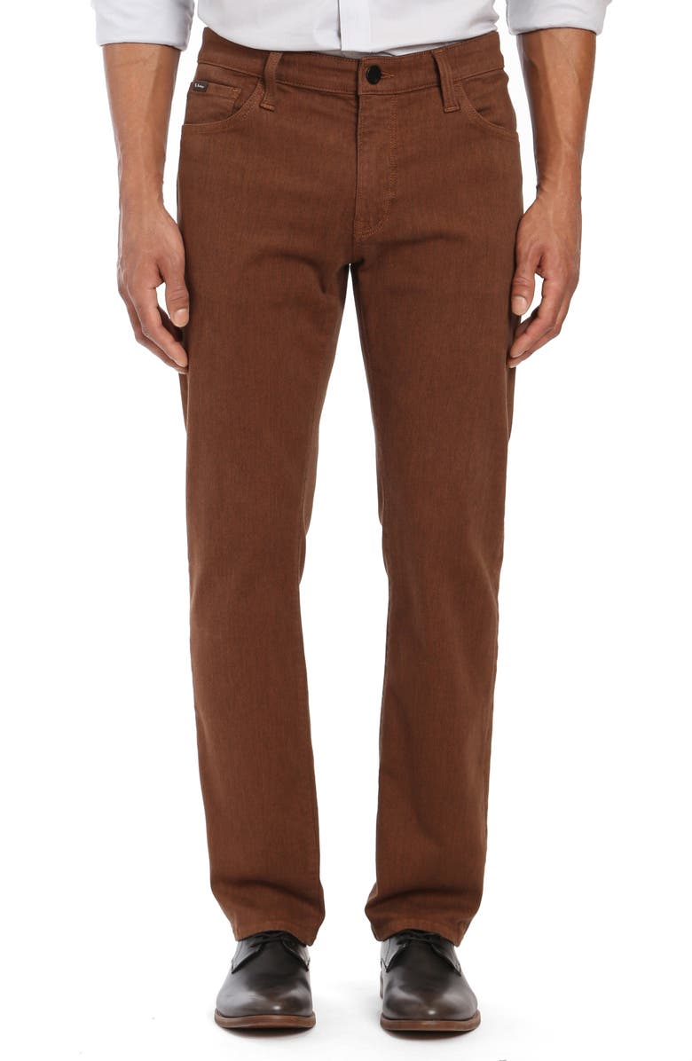 34 HERITAGE Courage Straight Leg Jeans, Main, color, 200