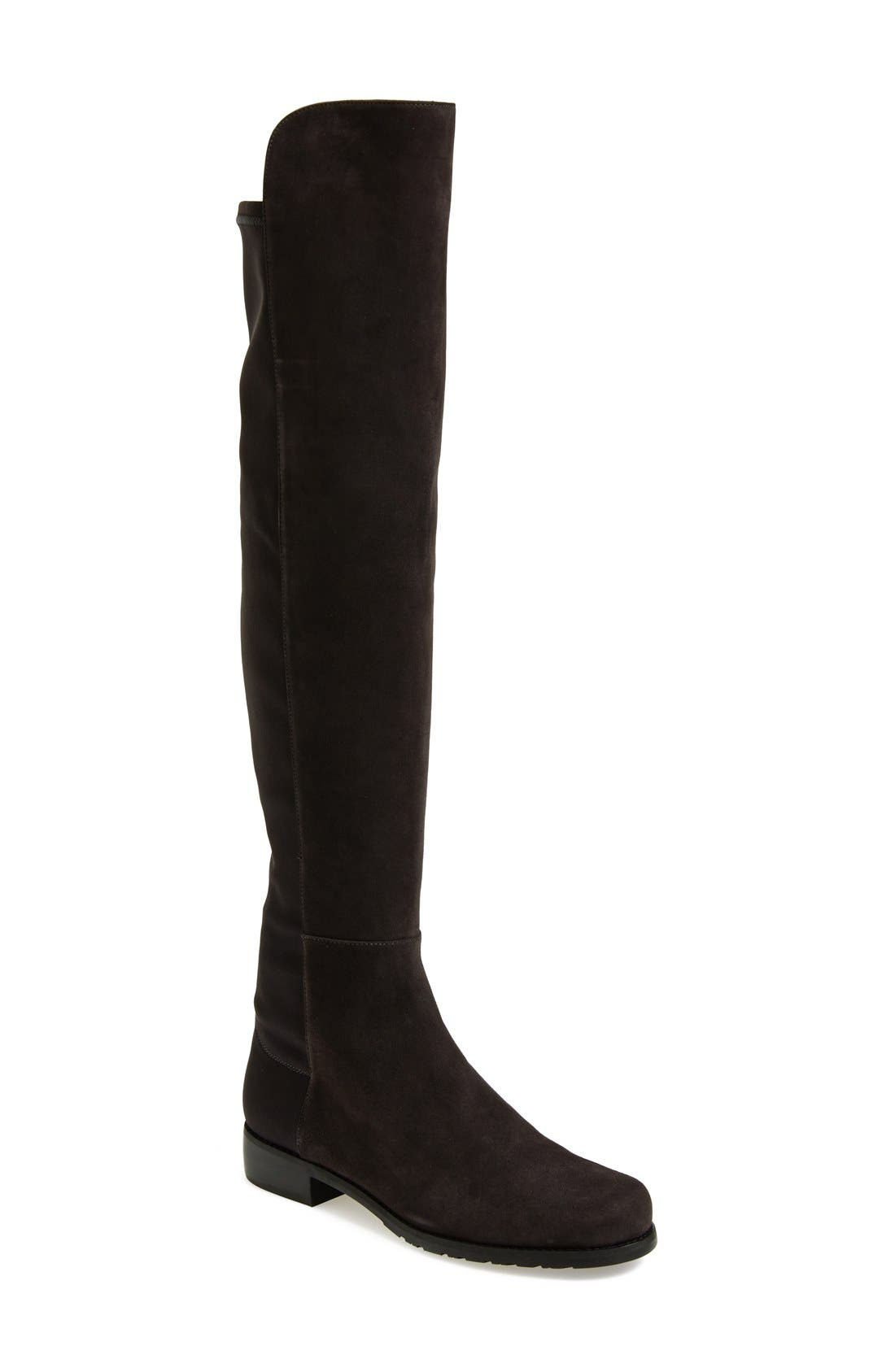 ,                             5050 Over the Knee Leather Boot,                             Main thumbnail 13, color,                             020