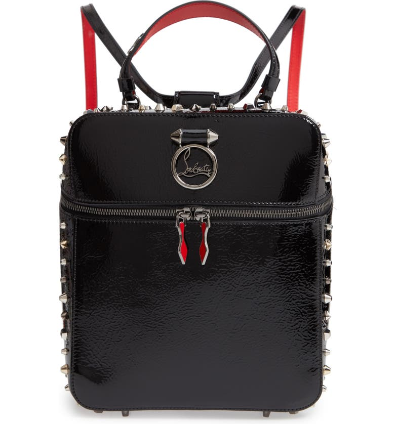 b302c50a3de Christian Louboutin Rubylou Patent Leather Backpack | Nordstrom
