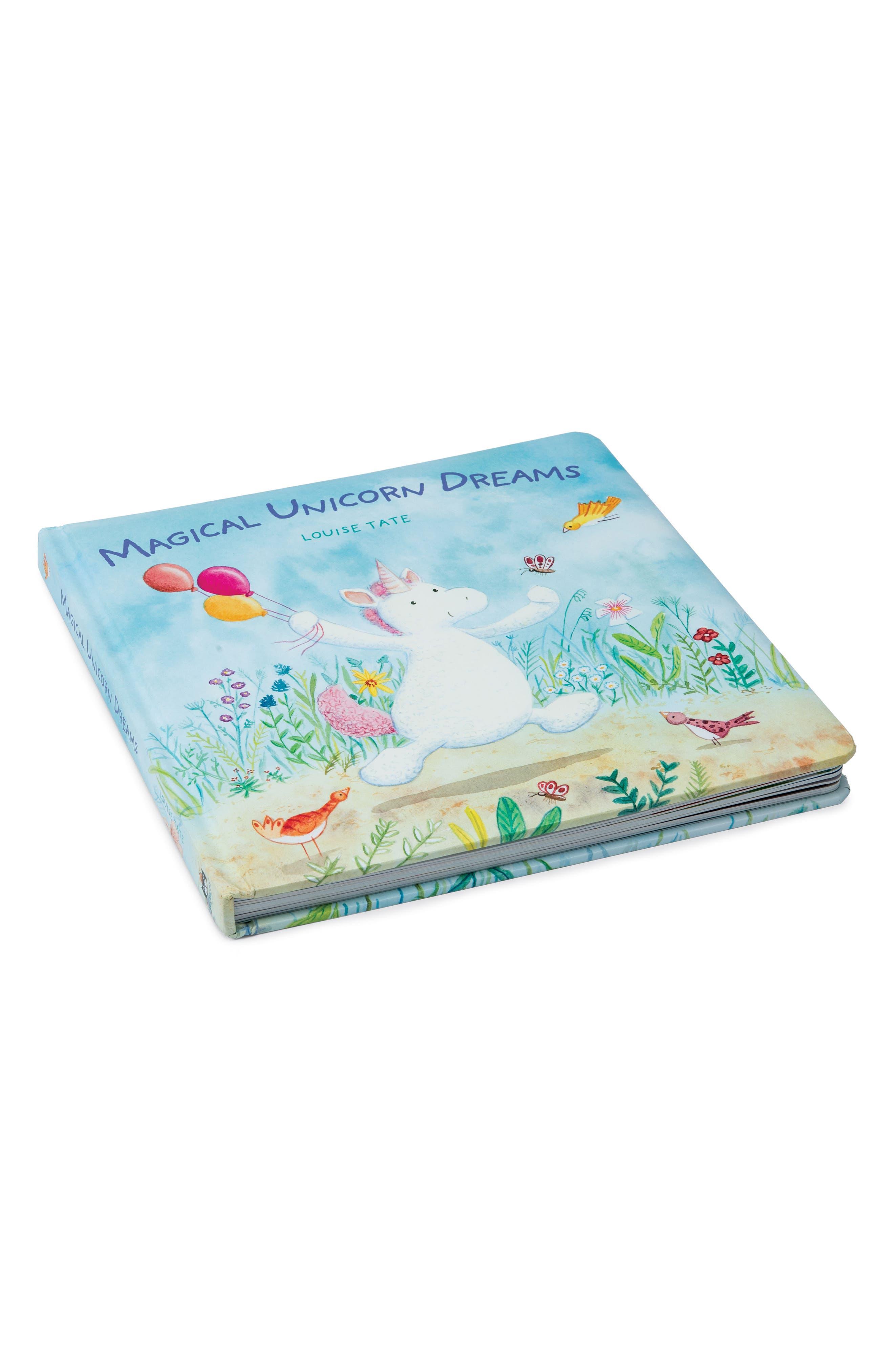 Unicorn Dreams Board Book Size One Size  White