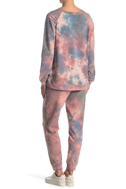 Image of Chenault Marble Tye Dye Jogger Pants
