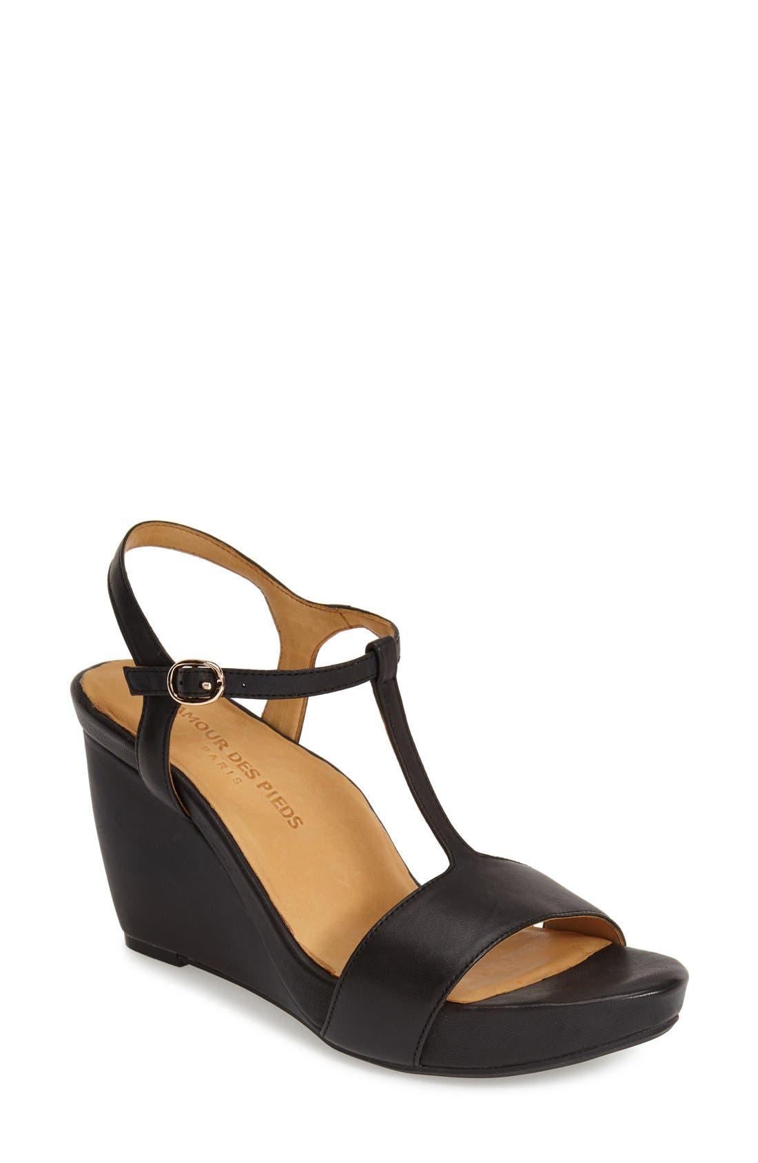'Idelle' Platform Wedge Sandal