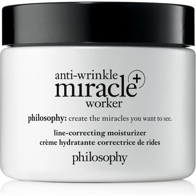 Philosophy Anti-Wrinkle Miracle Worker + Line-Correcting Moisturizer