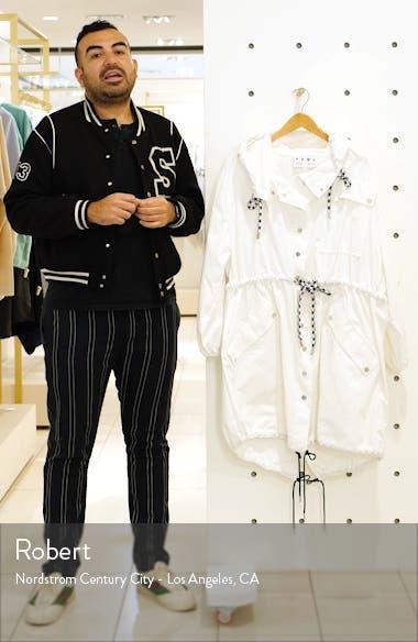 Proenza Schouler PSWL Crinkle Drawstring Waist Coat, sales video thumbnail