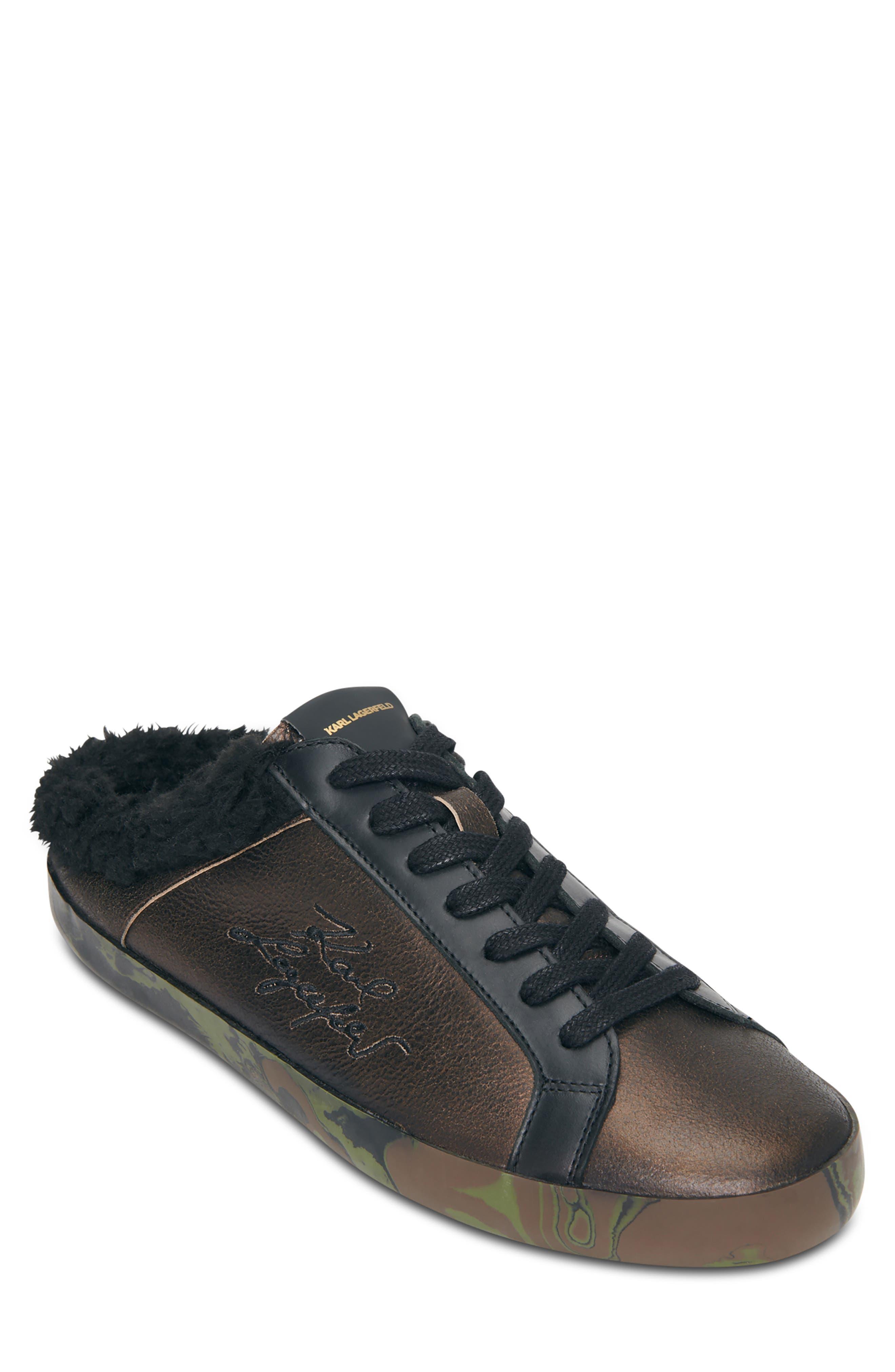 Faux Fur Sneaker