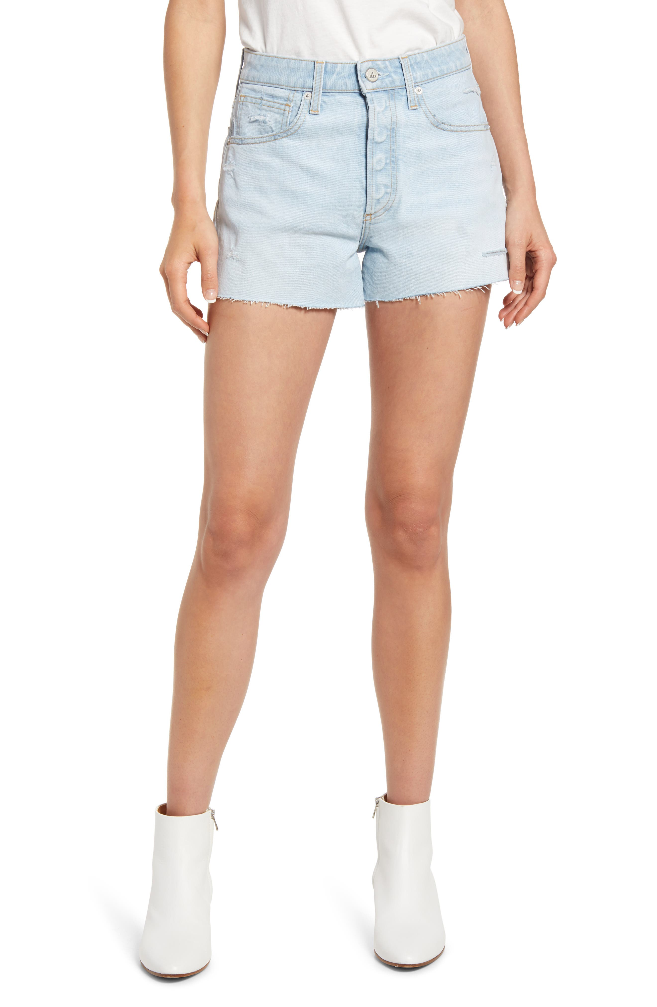 Adele High Waist Cutoff Shorts