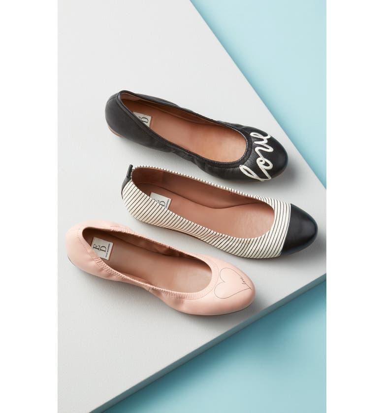 ED ELLEN DEGENERES 'Langston' Ballet Flat, Main, color, 008