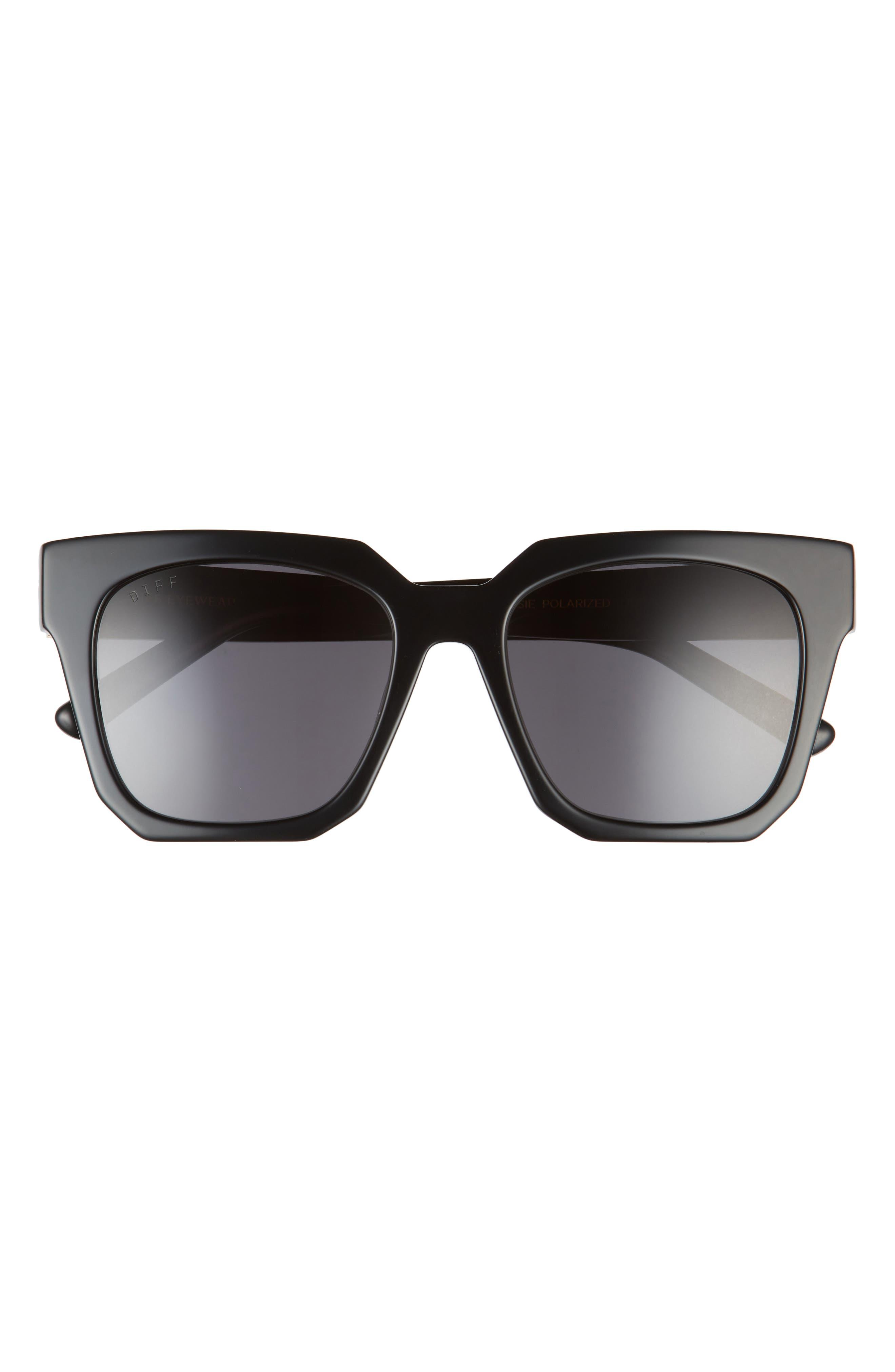 Ariana 54mm Polarized Square Sunglasses