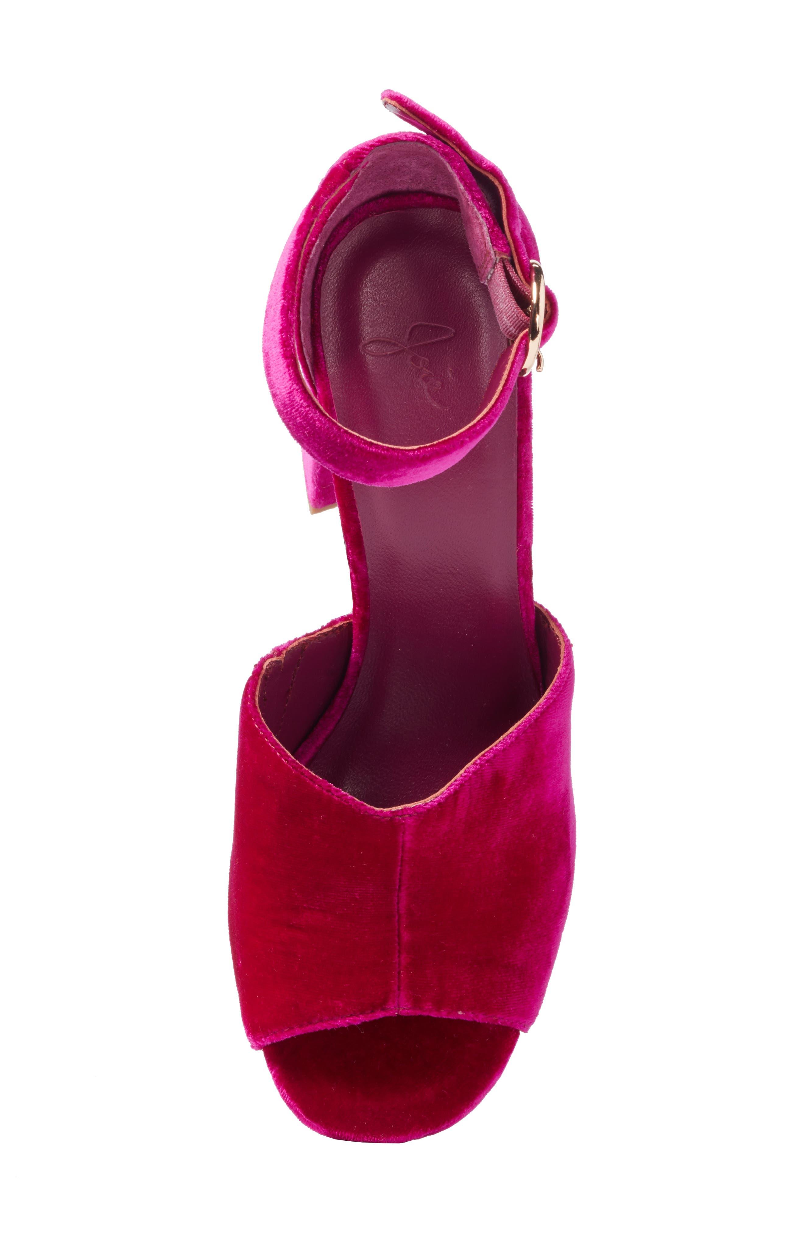 ,                             Lahoma Block Heel Sandal,                             Alternate thumbnail 11, color,                             644