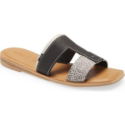 Toms Seacliff Slide Sandal, Black