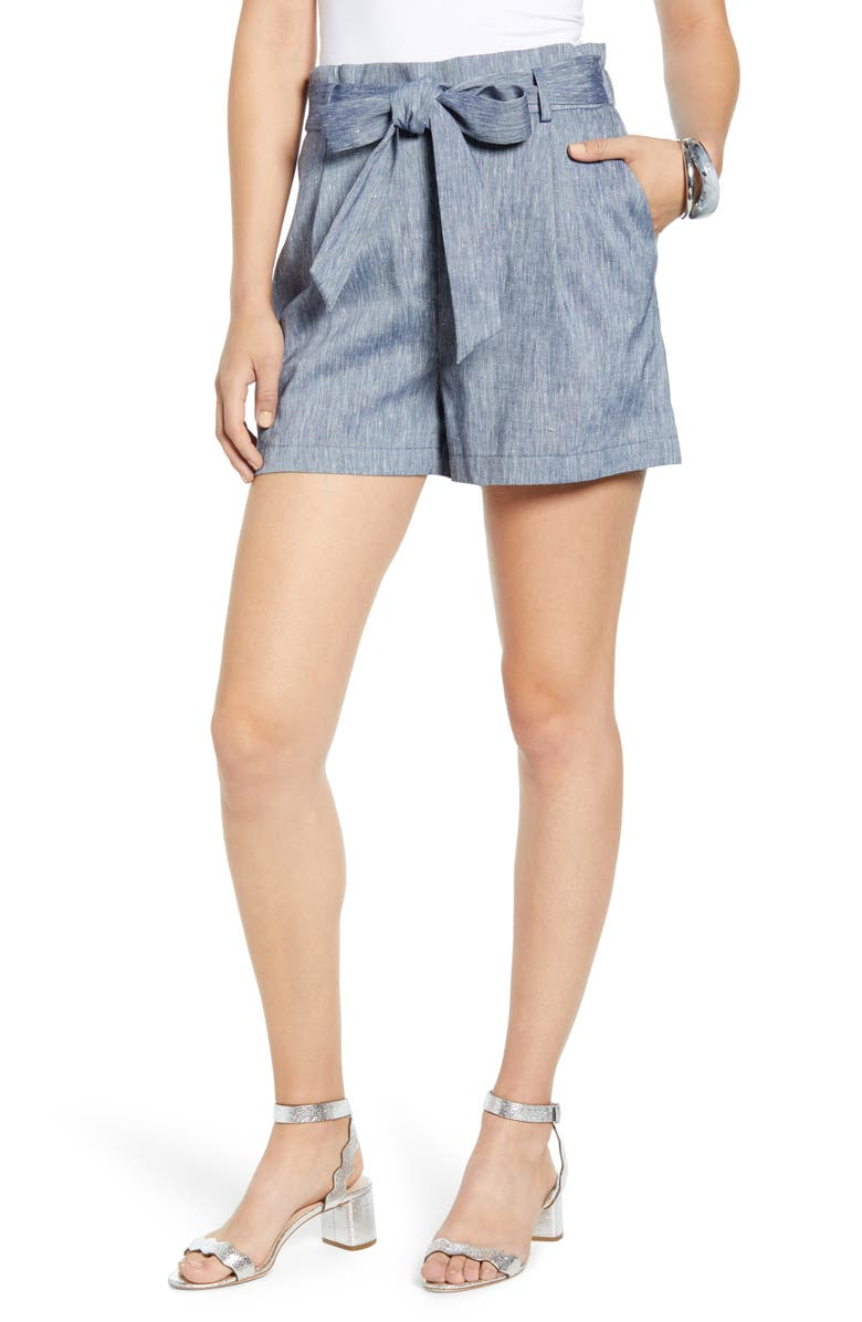 Tie Paperbag Waist Shorts by Halogen®