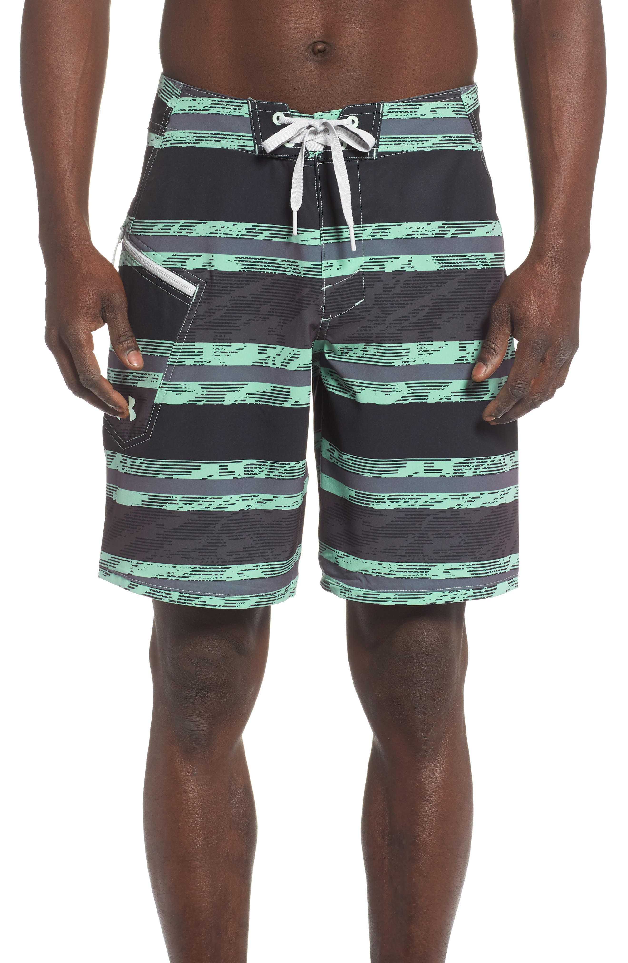 Under Armour Tide Chaser Board Shorts, Green
