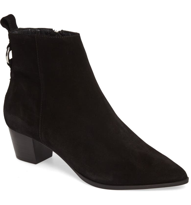 TOPSHOP Matcha Pointy Toe Bootie, Main, color, 001