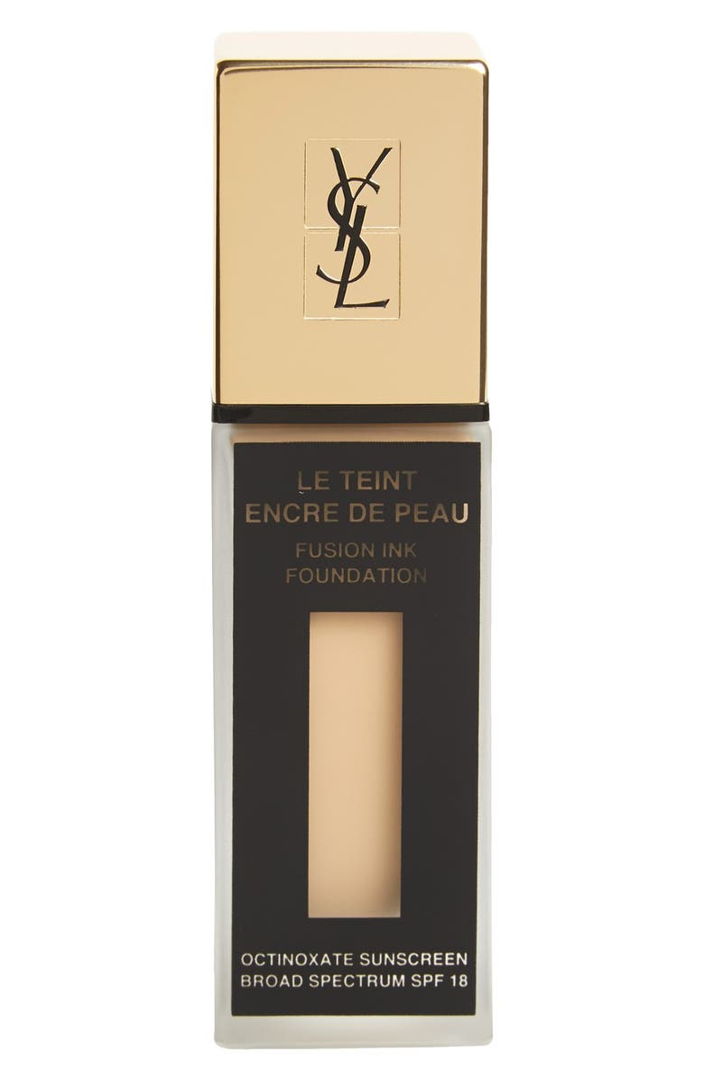 YVES SAINT LAURENT 'Fusion Ink' Foundation Broad Spectrum SPF 18, Main, color, 266