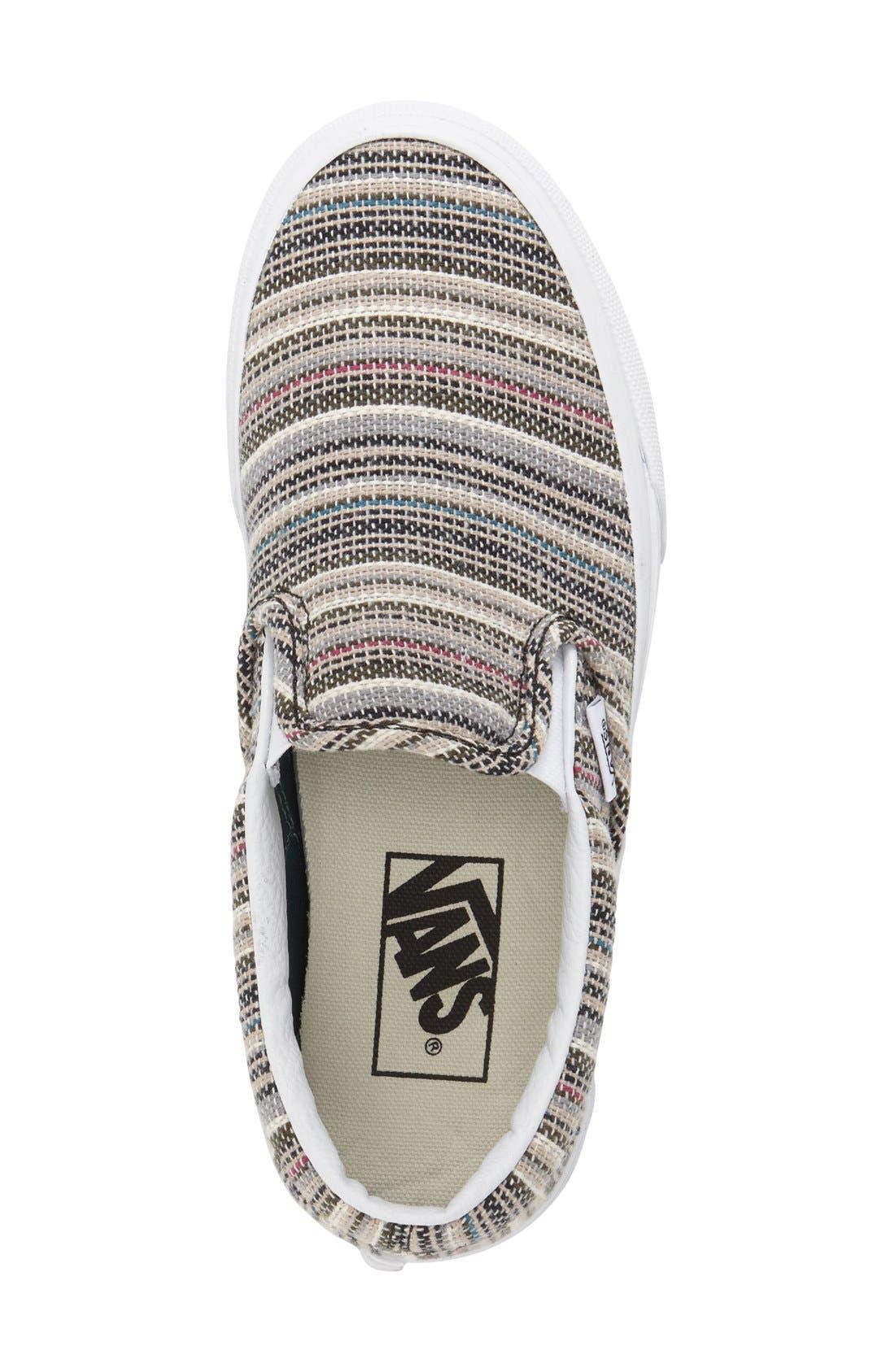 ,                             Classic Slip-On Sneaker,                             Alternate thumbnail 274, color,                             025