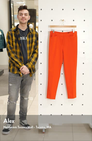 Crop Straight Leg Pants, sales video thumbnail