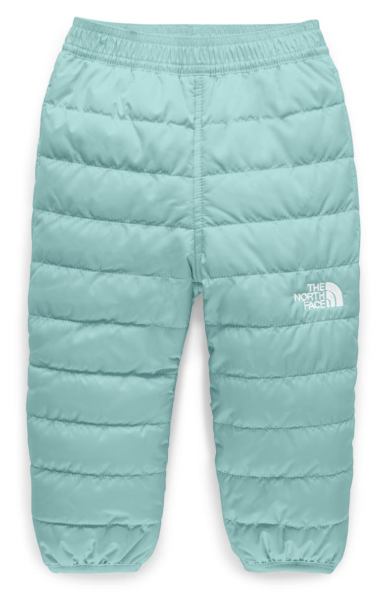 THE NORTH FACE Perrito Reversible Water Repellent Insulated Snow Pants, Main, color, WINDMILL BLUE