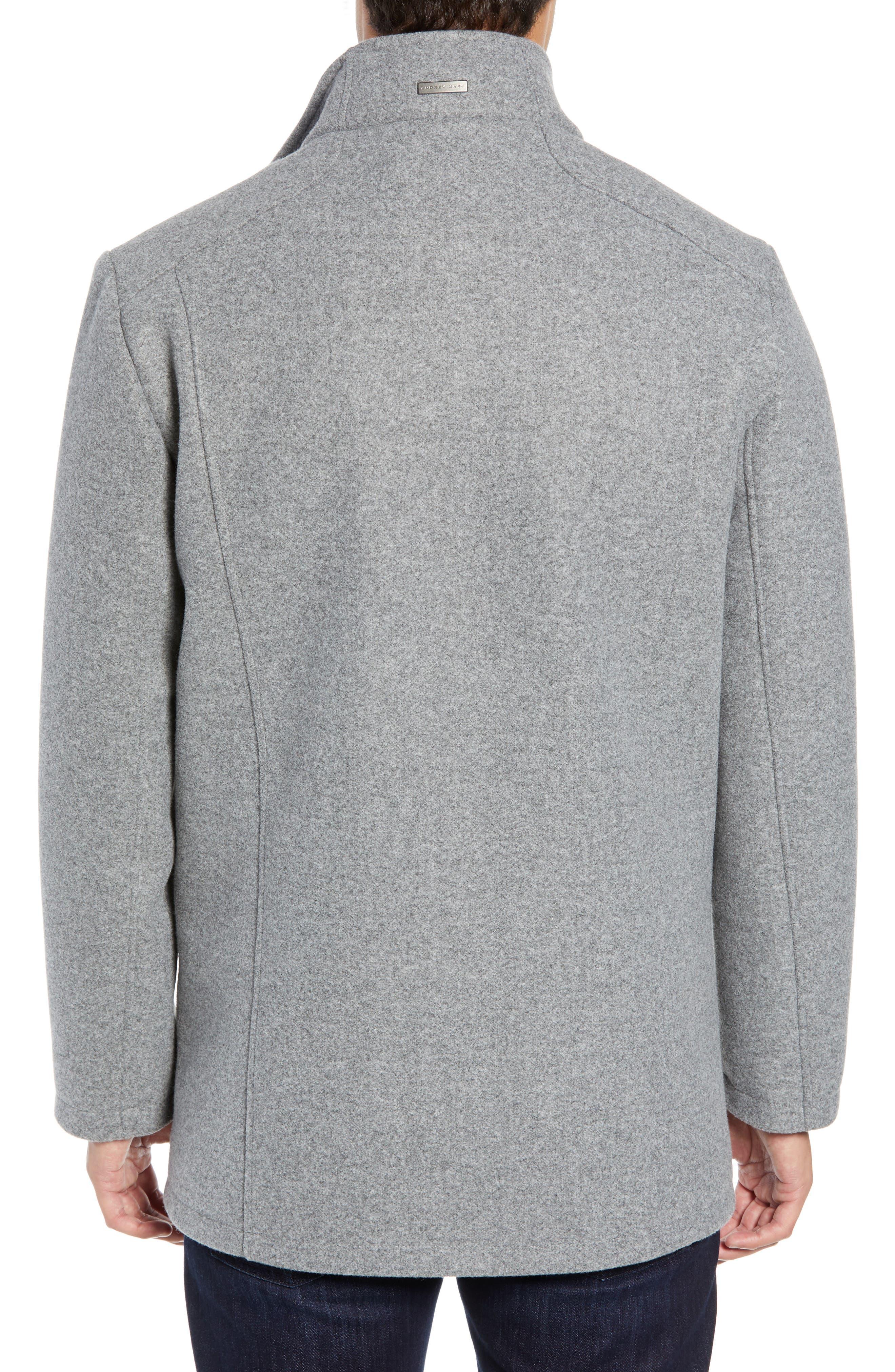 ,                             Westcott Wool Car Coat,                             Alternate thumbnail 2, color,                             LIGHT GREY