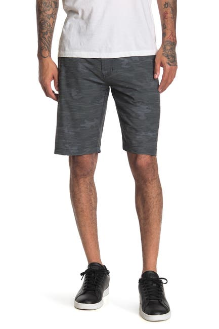 Image of Burnside Hybrid Camo Shorts