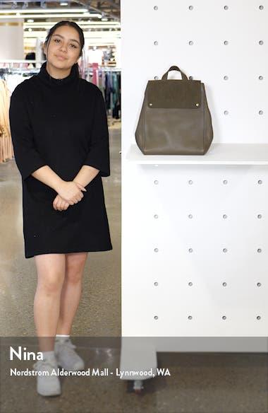 Amari Convertible Leather Backpack, sales video thumbnail