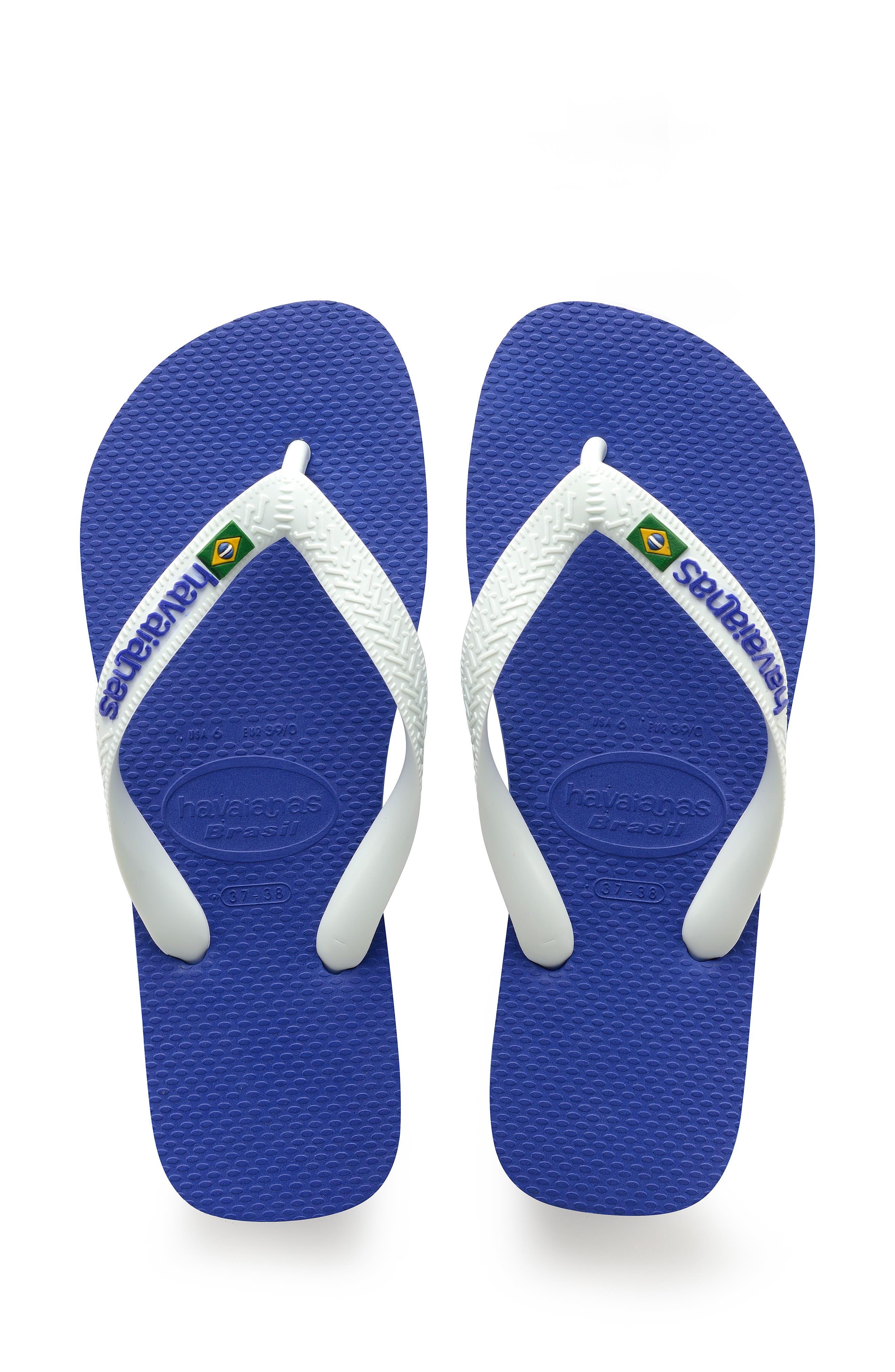 Brazil Logo Flip Flop