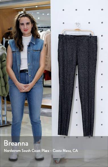 Flat Front Mélange Trousers, sales video thumbnail