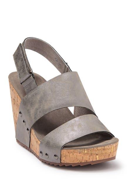 Image of Antelope Leather Wedge Sandal