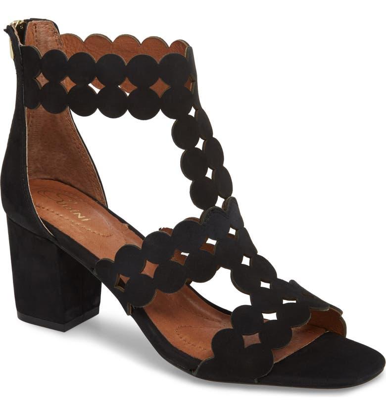 SUDINI Novara Block Heel Sandal, Main, color, 001