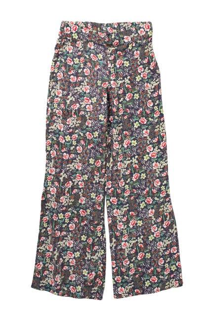 Image of O'Neill Tilda Floral Print Wide Leg Pants