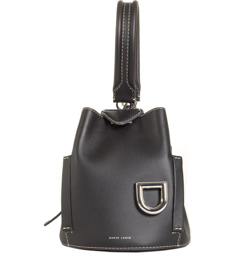 DANSE LENTE Josh One-Shoulder Bag, Main, color, BLACK/ CHARCOAL
