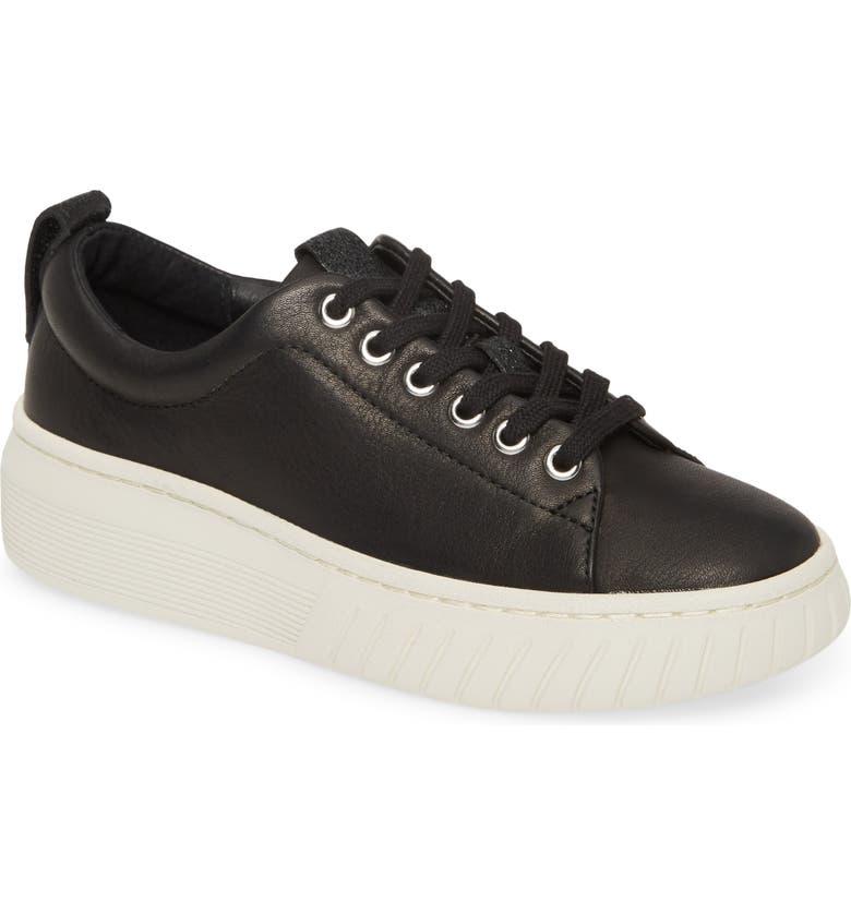 SÖFFT Pacey Platform Sneaker, Main, color, BLACK