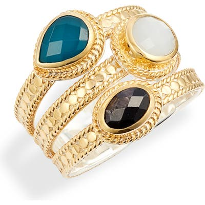 Anna Beck Stone Stack Ring