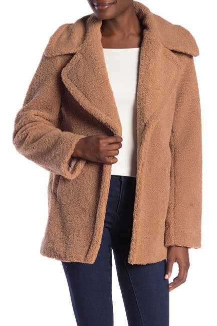 Image of French Connection Faux Shearling Teddy Jacket