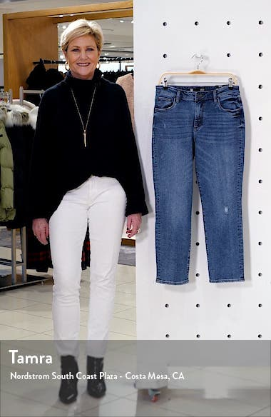 Reese High Waist Ankle Straight Leg Jeans, sales video thumbnail
