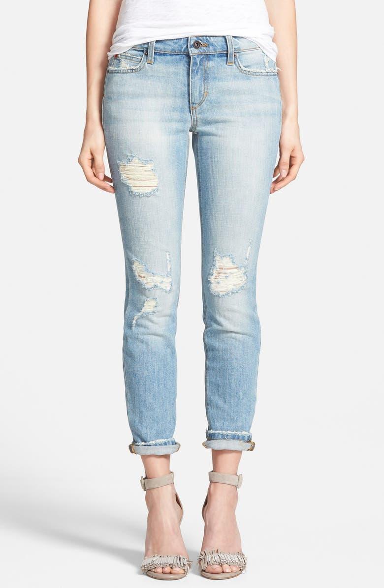 JOE'S Rolled Skinny Jeans, Main, color, 400