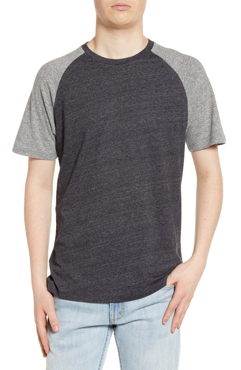 THE RAIL Baseball T-Shirt, Main, color, 001