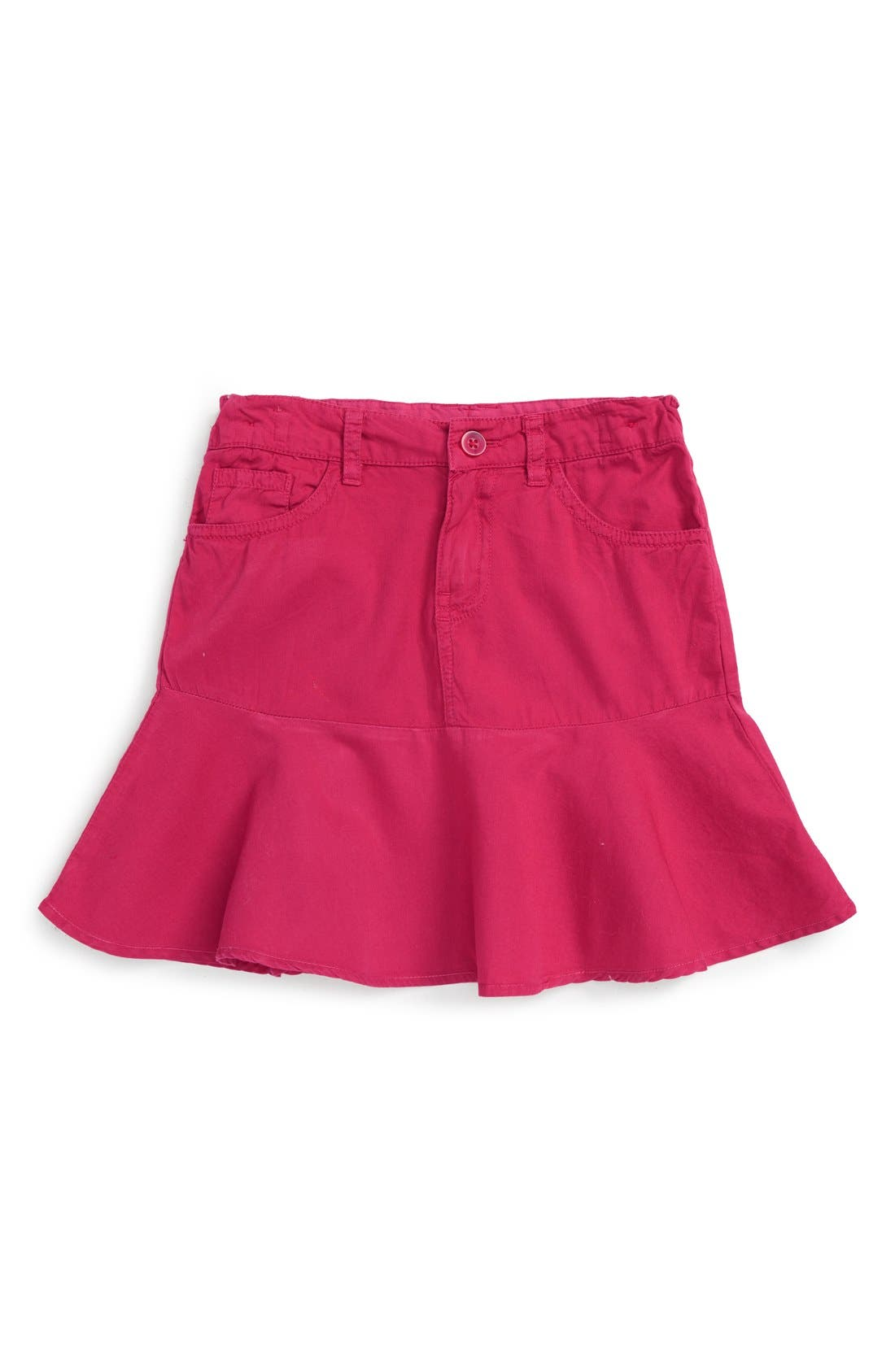 Toddler Girls Pumpkin Patch Ruffle Skirt Size 2T  Pink