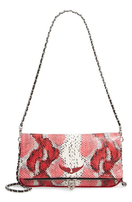 Image of Zadig & Voltaire Rock Painted Crossbody Bag