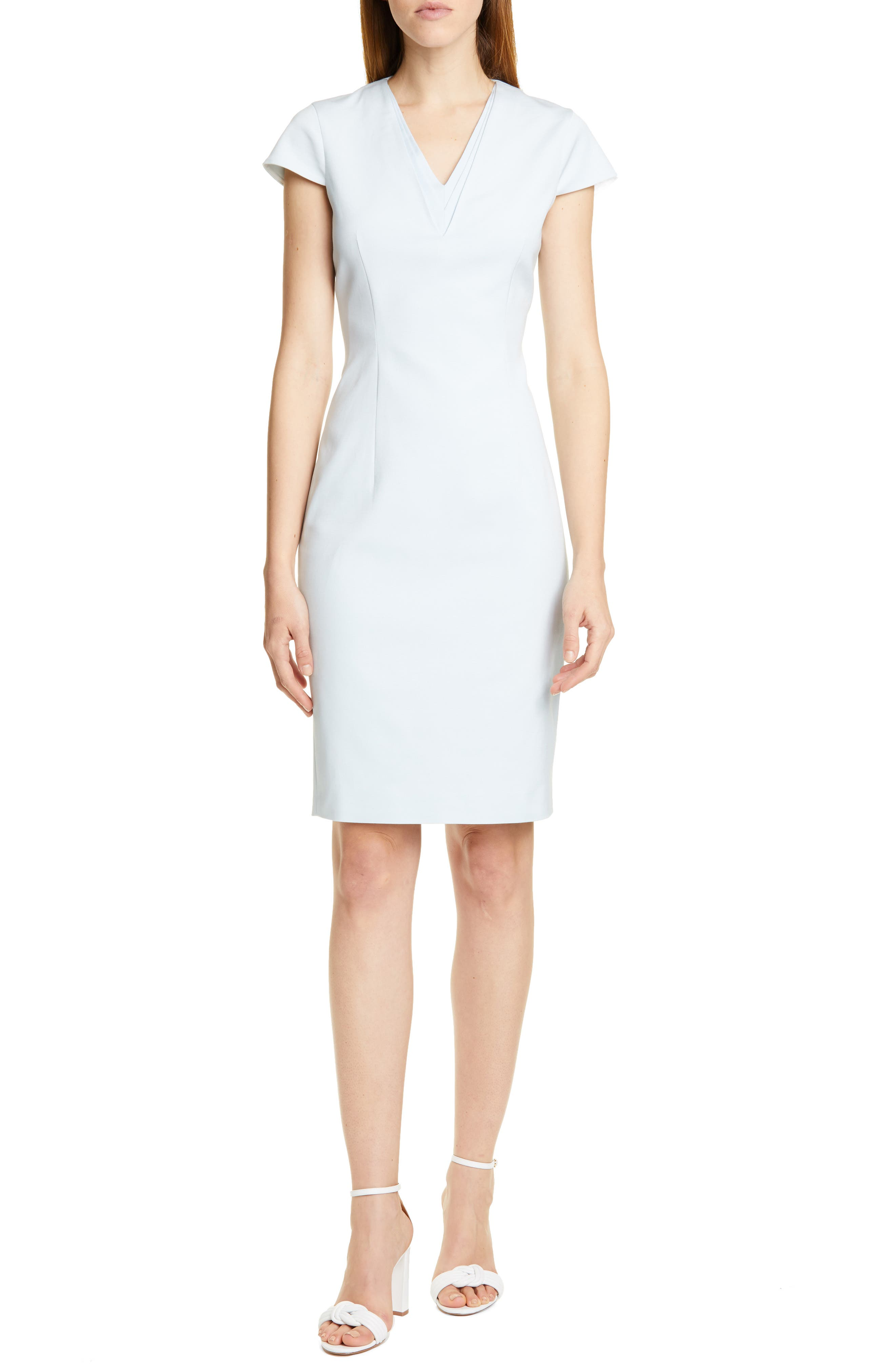Ted Baker London Kloee Pencil Dress, Blue