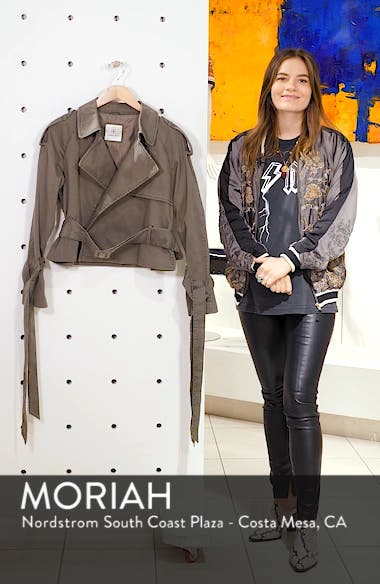 Aria Trench Jacket, sales video thumbnail