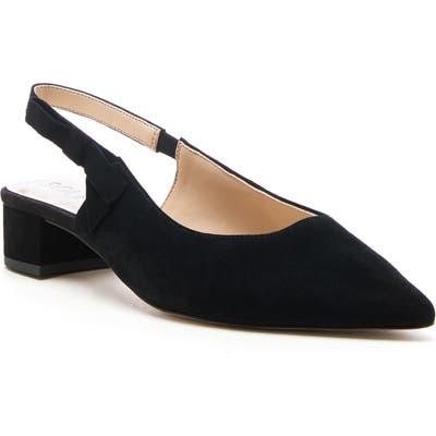 Sole Society Maelie Bow Slingback Pump- Black