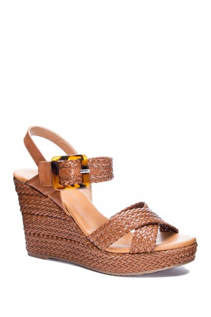 Image of CL by Laundry Best Known Woven Wedge Sandal