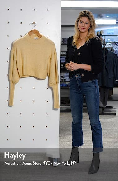 Coline Crop Sweater, sales video thumbnail