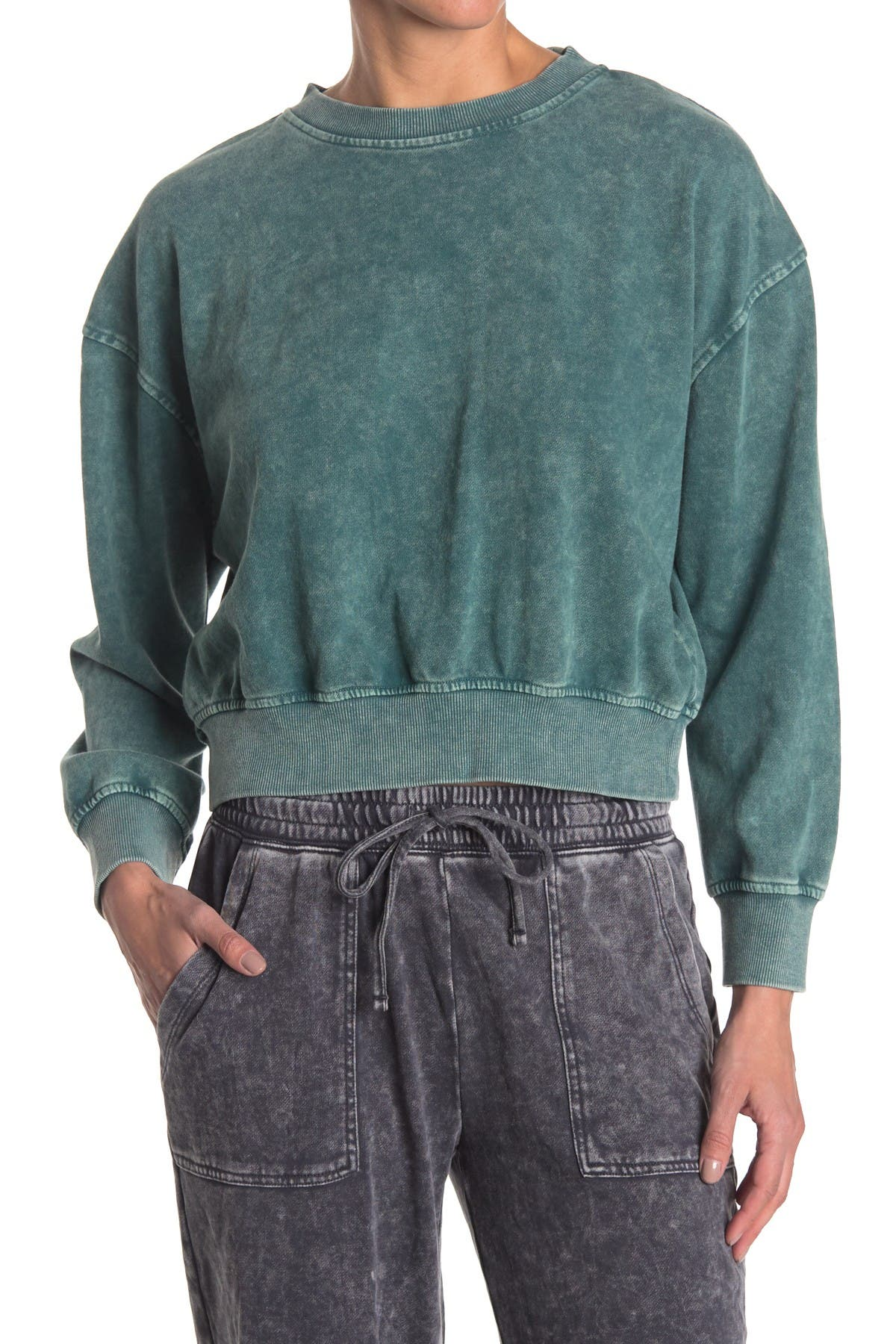 Image of SUPPLIES BY UNIONBAY Washed Out Knit Sweater
