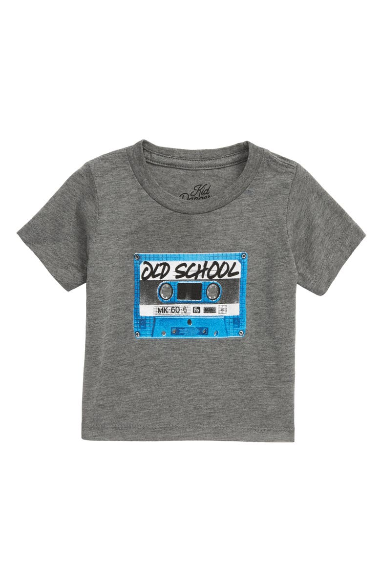 KID DANGEROUS Mixtape Graphic T-Shirt, Main, color, MEDIUM GREY