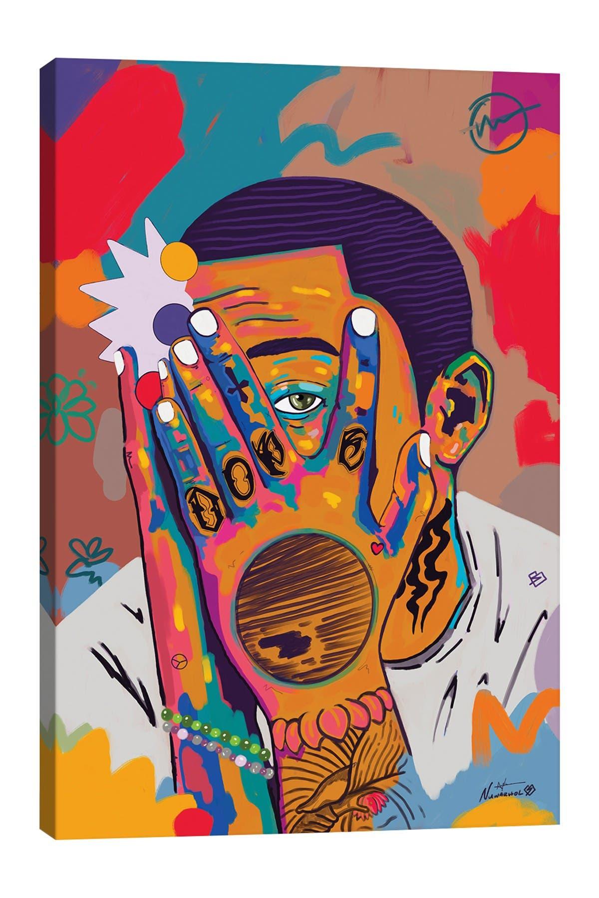 Image of iCanvas Mac Miller Rip by NUWARHOL(TM) Canvas Art