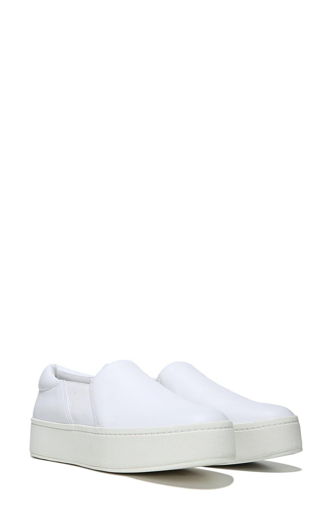 ,                             Warren Slip-On Sneaker,                             Alternate thumbnail 3, color,                             PLASTER LEATHER
