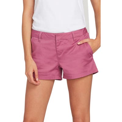 Volcom Frochickie Chino Shorts, Purple