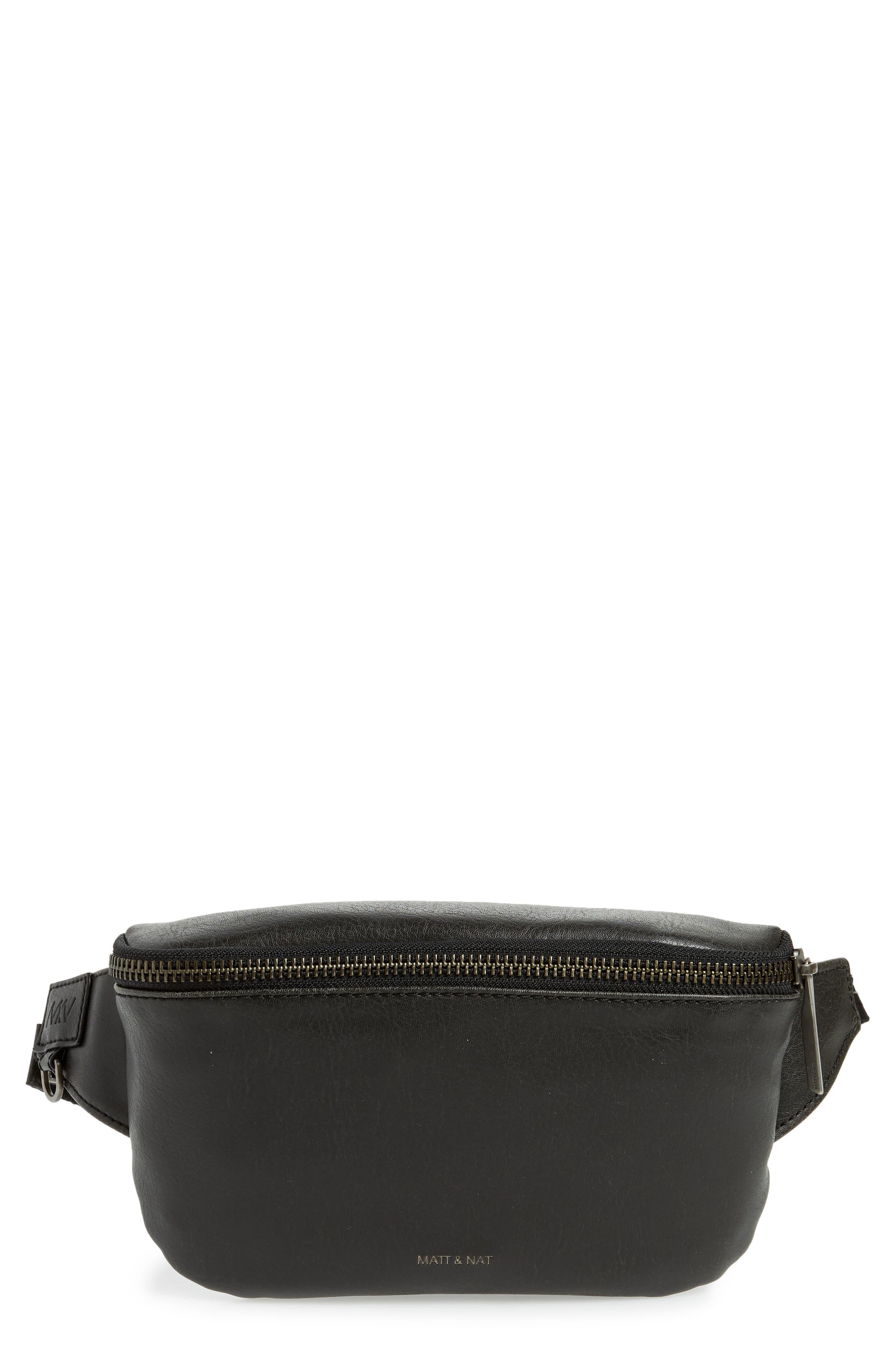 Matt & Nat Vie Faux Leather Belt Bag - Black