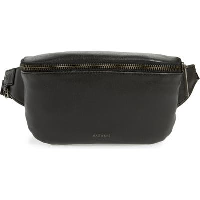Matt & Nat Vie Faux Leather Belt Bag - Black